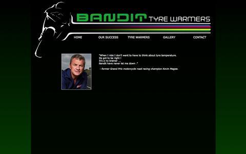 Screenshot of Testimonials Page bandit.com.au - Bandit Tyre Warmers - Testimonials - captured Nov. 3, 2014