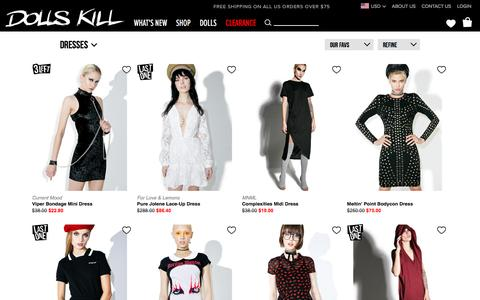 Dresses Sale | Dolls Kill