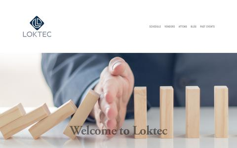 Screenshot of Home Page loktec.co.uk - Loktec Security Group ATM PROTECTION. ATM SECURITY. SAFES. STRONGROOMS.LOCKSMITHS. ACCESS CONTROL- Loktec Security Group ATM PROTECTION. ATM SECURITY. SAFES. STRONGROOMS.LOCKSMITHS. ACCESS CONTROL - captured April 24, 2018