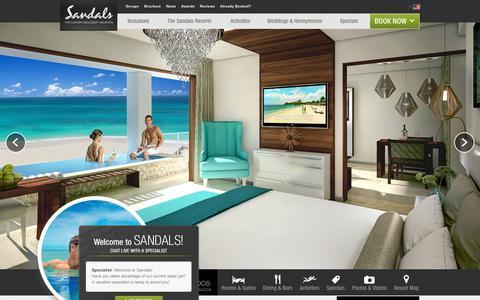 Sandals Royal Barbados Resort in St. Lawrence Gap, Barbados | Sandals