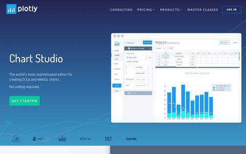 Plotly: Chart Studio