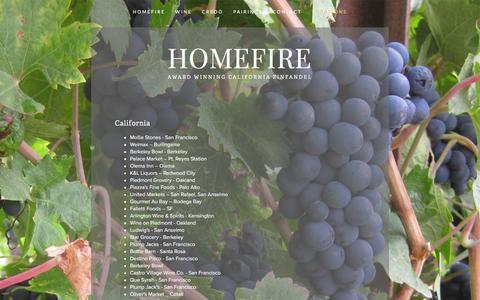 Screenshot of Locations Page zintopia.com - Locations — Homefire - captured Jan. 31, 2016
