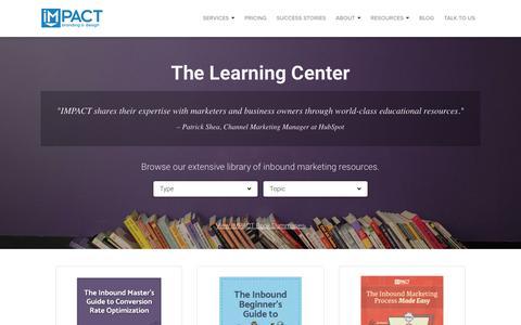 Free Inbound Marketing Resources | IMPACT