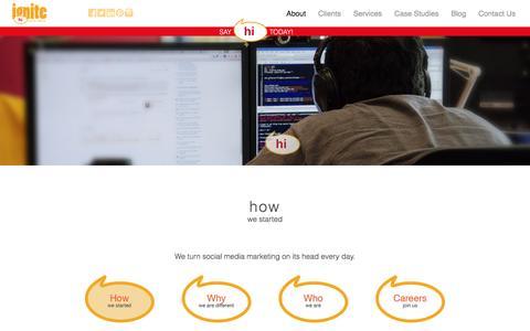 Ignite Social Media – The original social media agency | How