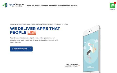 Best Mobile Application Development Company India - AppsChopper