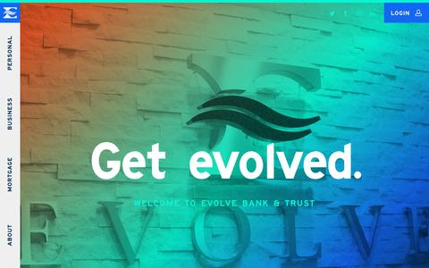 Evolve Bank & Trust | Get Evolved