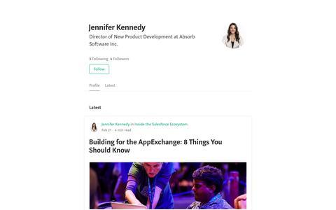 Jennifer Kennedy – Medium
