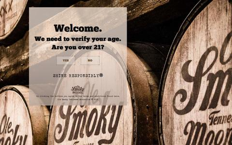 Screenshot of Contact Page olesmoky.com - Ole Smoky Contact - Ole Smoky Tennessee Moonshine - captured Oct. 26, 2014