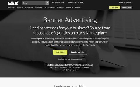 Banner Ad Design | blur Group