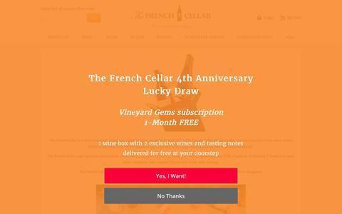 Screenshot of Jobs Page thefrenchcellar.sg - Job Offers – The French Cellar | The French Cellar - captured Oct. 30, 2017