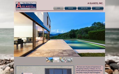 Screenshot of Home Page aglasco.com - aglasco - captured July 19, 2015