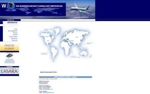 Screenshot of Contact Page wbaccs.com - WBACCS Contact us - captured Sept. 30, 2014