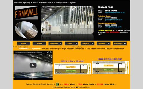 Screenshot of Privacy Page firmawall.co.uk - Firmawall Limited - Privacy Policy - captured Oct. 6, 2014