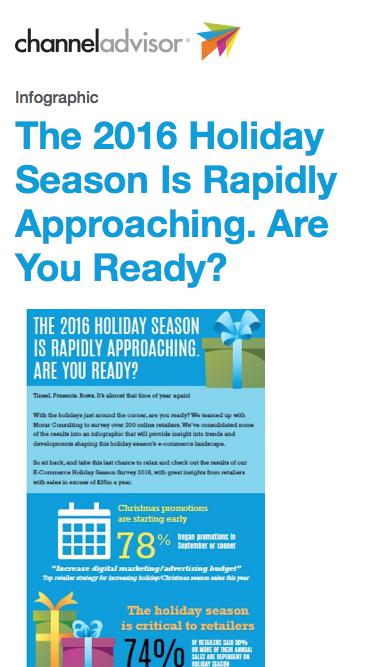 The 2016 Holiday Season Is Rapidly Approaching. Are You Ready?