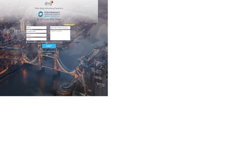 Screenshot of Landing Page traffiliate.com - Oct. 29-30 , 2015 - Performance Marketing Insights London! - captured Aug. 3, 2016