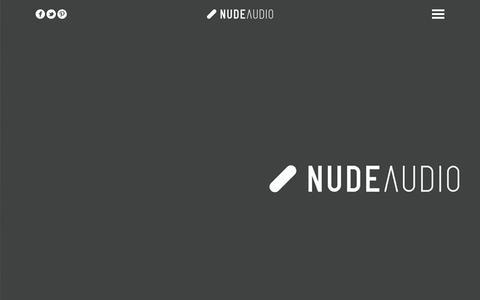 Screenshot of Home Page nudeaudio.com - NudeAudio   Super-M - captured Feb. 19, 2016