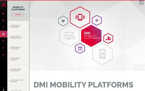 Mobility Platforms - DMI