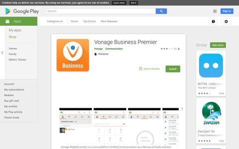 Vonage Business Premier - Apps on Google Play