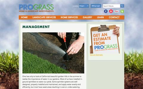 Screenshot of Team Page prograss.com - Management - Prograss - captured Feb. 1, 2016