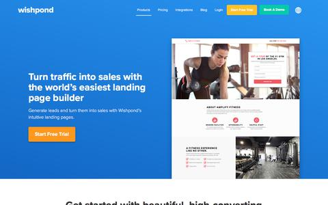 Wishpond Landing Page Builder: Create Beautiful Landing Pages