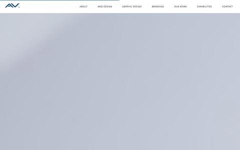 Screenshot of Home Page artversion.com - Web Design Company   Graphic Design Firm   Web Design Chicago & San Francisco - captured Sept. 19, 2014