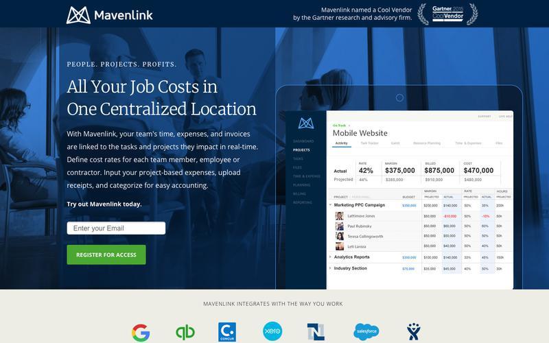 Job Costing Software | Mavenlink