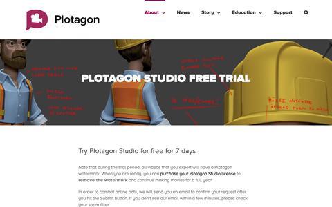 Medium traffic Digital Games Trial Pages   Website