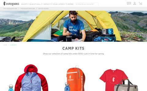 CAMP KITS – Cotopaxi