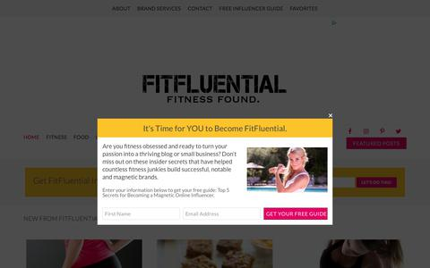 Fitness and Nutrition - FitFluential