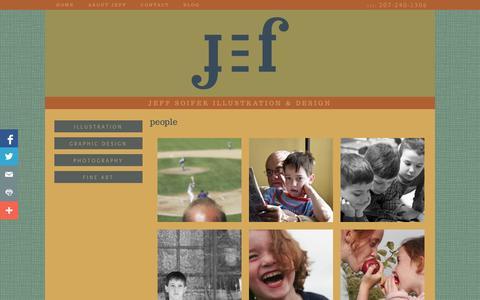 Screenshot of Team Page jeffsoifer.com - people - Jeff Soifer Illustration & Design - Jeff Soifer Illustration & Design - captured Oct. 2, 2014