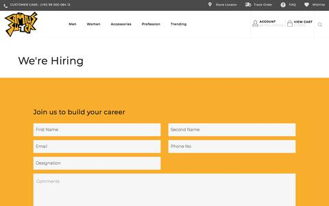 Screenshot of Jobs Page campussutra.com - we_are_hiring - captured July 15, 2018