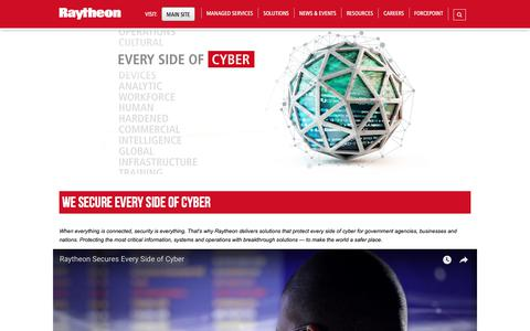 Raytheon: We Secure Every Side of Cyber