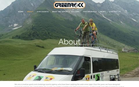 Screenshot of About Page greenrock.co.uk - About — Greenrock - captured Sept. 30, 2018