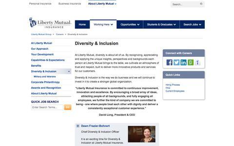Diversity & Inclusion - Liberty Mutual