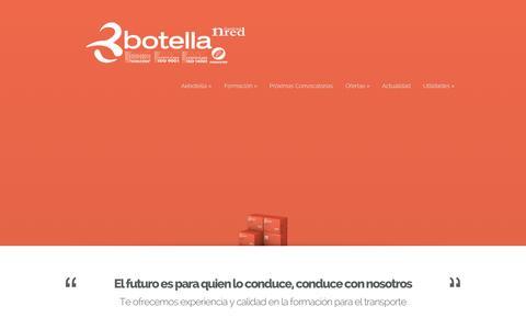 Screenshot of Home Page aebotella.es - Autoescuelas Botella S.L. - Centros de Formación - Autoescuela - captured Oct. 4, 2014