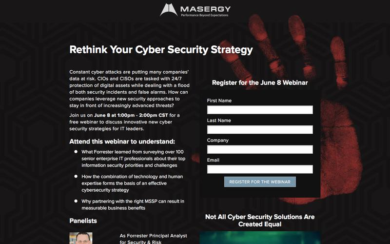 Forrester And Masergy Security Webinar | Masergy
