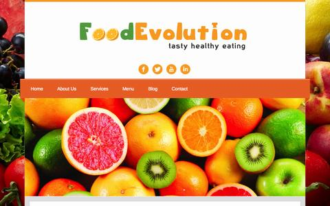 Screenshot of Blog foodevolution.co.uk - Blog | Food Evolution - captured Oct. 6, 2014