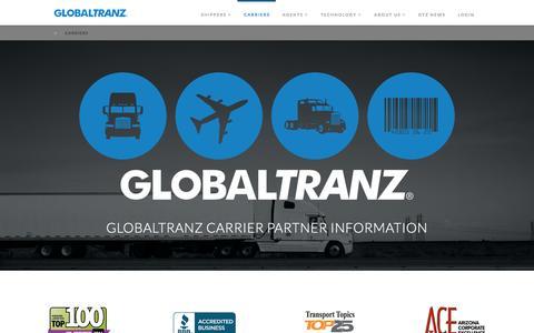 CARRIERS | GlobalTranz