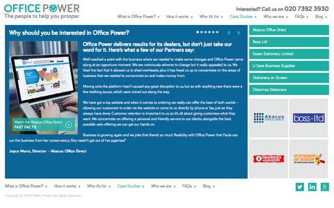 Screenshot of Case Studies Page officepower.net - Case Studies  |  OfficePower.net - captured Nov. 3, 2014