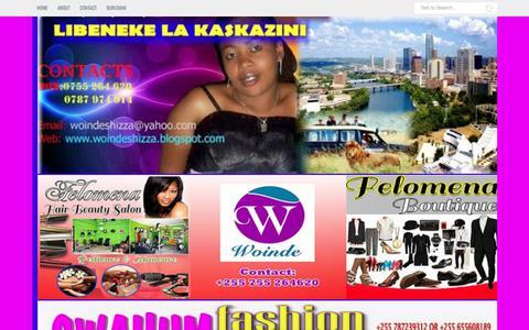 Screenshot of Contact Page woindeshizza.blogspot.com - Contact Us - captured June 23, 2017
