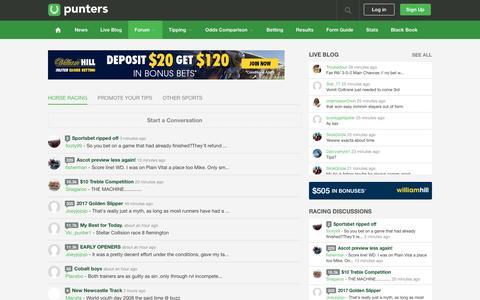 Punters.com.au Forum
