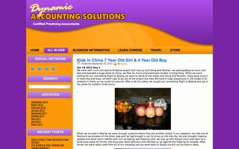 Screenshot of Blog dasolutions.com.au - Certified Practicing Accountants - captured Oct. 5, 2014