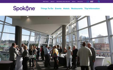 Screenshot of Testimonials Page visitspokane.com - Spokane, Washington   Spokane Area Tourism & Trip Planning - captured Nov. 23, 2017