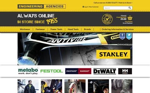 Screenshot of Home Page engineeringagencies.co.uk - Engineering Agencies - captured Oct. 3, 2014