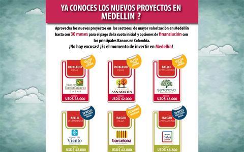 Screenshot of Landing Page viventa.co - Viventa - Campaña - Medellín - captured Oct. 27, 2014