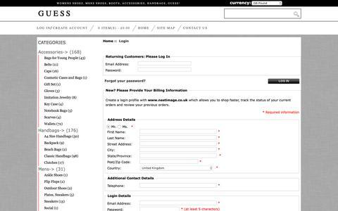 Screenshot of Login Page nestimage.co.uk - Login Buy Popular,Fashion - captured Oct. 18, 2018
