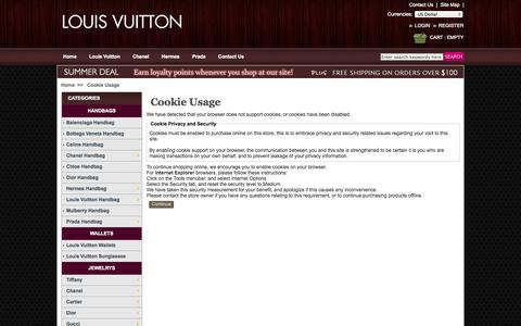 Screenshot of Login Page knockofflouisvuittonstory.com - Cookie Usage , Replica Designer handbags, Fake Designer Handbags, Knock Off Designer Handbags, Knock Off Bags - captured Oct. 29, 2014