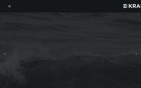 Screenshot of Home Page kraken.uk.com - Kraken Design Agency York   Branding, Websites, Graphic Design - captured Oct. 17, 2017