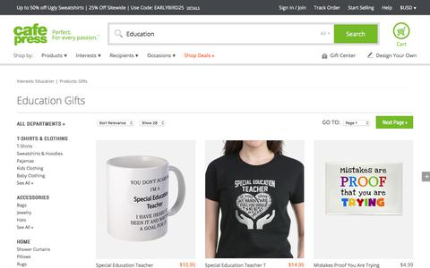 Education Gifts & Merchandise   Education Gift Ideas & Apparel - CafePress