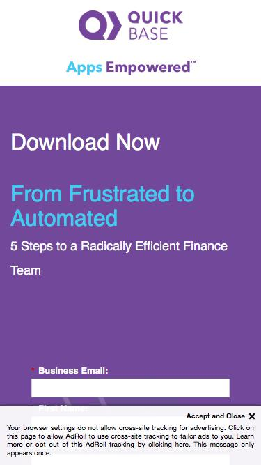 From Frustrated to Automated